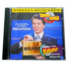 Pc Game Show Do Milhão 2 Com Manual Game Show Silvio Santos