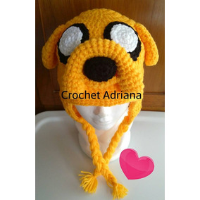 Gorro Jake Hora De La Aventura Crochet Bebé, Niño Y Adulto
