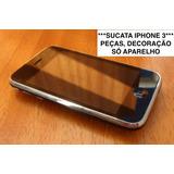 *** Sucata Iphone 3 G 16 Gb Não Funciona Peças Decoração ***