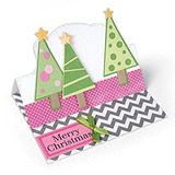 Sizzix Thinlits Troqueles Árboles De Navidad Por Stephanie B