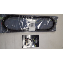 Kit Correia Transmissão + Roletes Embreagem Yamaha Neo 115