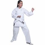 Kimono Karate Lona K10 Medium Kanvas Tradicional Shiroi 10
