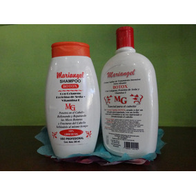 Shampoo Mariangel Botox- Acondicionador Mariangel Botox
