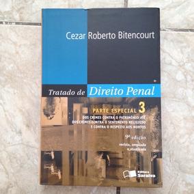 Livro Tratado De Direito Penal Parte Especial 3 Cezar R. B.