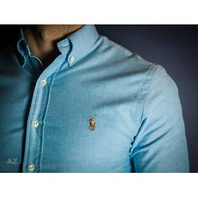 Camisa Social Ralph Lauren Slim Fit - Tam: G ( L )