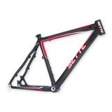 Quadro Fibra Carbono Mountain Bike Ellite Aro 26 Tam 17