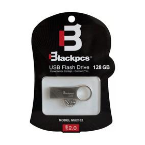 Memoria Usb 128gb Blackpcs 2102 Mu2102s-128 Plata Metálica