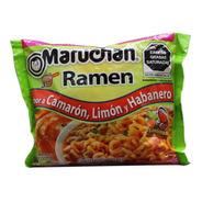Sopa Maruchan Ramen Camarón Limón Y Habanero 85 G 24 Piezas