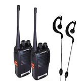 Par Radio Uhf 16 Canais Comunicador Profissional 777s Full