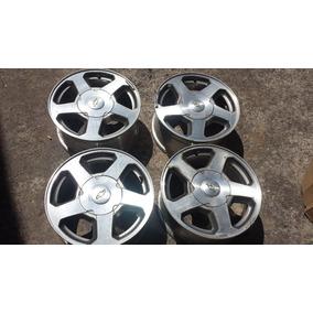 Rines Deportivos Usados 6 Birlos R16 Aluminio Chevrolet 4pz