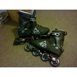 Rollers Profesionales K2 Fit 80 Excelente Estado!