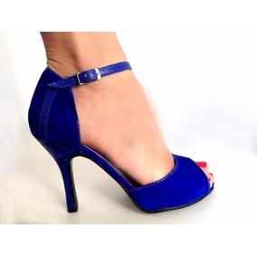 Zapatos De Baile,tango,salsa,fiesta Gamuza Exclusivos