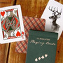 Cartas Poker Vintage Plaid California Blue D&d Magia Únicas!