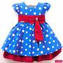 Vestido Infantil Galinha Pintadinha Festa Luxo Menina Bonita
