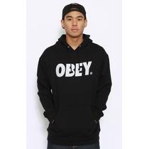 Blusa Obey Modelo 2014 Moletom Canguru - A Melhor !!!