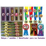 Relojes Medallas Identificador Infantil Para Invitados