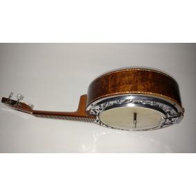 Banjo Carlinhos Luthier N1 Imbuia Novo Com Garantia