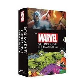 Box Marvel Guerra Civil E Guerras Secretas #corre!vai Acabar