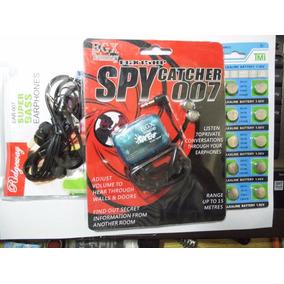 Kit Audifonos Espia 007, Para Escuchar A Distancia