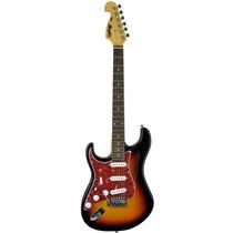Guitarra Canhota Tagima Memphis Mg32 - Sunburst+capa Brinde!