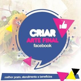Criar Arte Final Para Facebook Capa Anuncio Publicacao