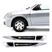 Adesivo Aplique Lateral Chevrolet Carro Celta Resinado Res33