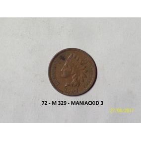 Estados Unidos 1 Centavo Indio 1907 Linda