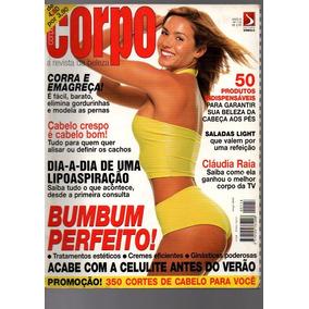 Revista Corpo A Corpo Claudia Raia Nº 118 Ano 98