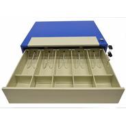 Gaveta Caja Dinero 5 Compartimentos Con Llave Timbre