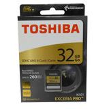 Memoria Sd Toshiba Exceria Pro 32gb U3 Clase 3 Box Dmaker