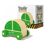 Trencity Blocars Individual Verde Madera Coleccionable