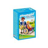 Playmobil City Life Criança Com Cadeira De Rodas Sunny 6663