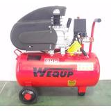 Compresor De Aire Tanque 24 Litros 2 Hp Wequp Calidad Total