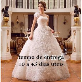 Vestido De Noiva Banv4 Frete Gratis