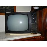 Televisor Grundig Blanco Y Negro 12 Pulgadas Funcionando