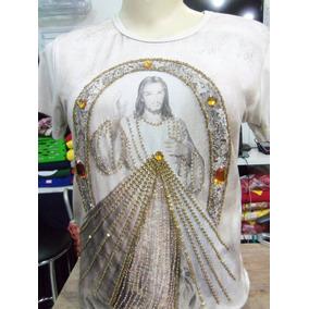 Blusa Jesus Misericordioso Bordada Despertar