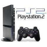 Consola Playstation 2 Completa Chipeada +2juegos Gratis