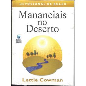 Mananciais No Deserto - Devocional De Bolso [nova Edição]