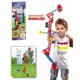 Super Set De Arqueria Kingsport Juego Infantil Arco Flechas