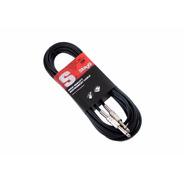 Cable 3m Plug-plug Para Guitarra/bajo Stagg Sgc3