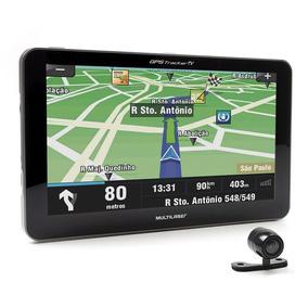 Gps Tracker 3 Tela 7 Fm Tv Dig Câmera De Ré Gp039 Multilaser