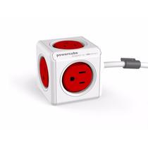 Powercube Original 5 Tomas Con Cable De Extensión De 1.5mts