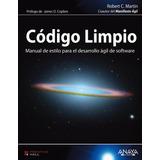 Código Limpio, Robert C. Martin Anaya Pdf
