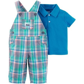 Overol Pantalon Camisa Linea Carters Talla 3-6 Meses