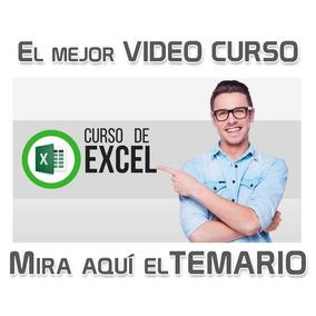Curso Excel En Video Desde 0 Sencillo Fácil Para Empresas