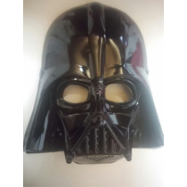 Mascara Plastica Star Wars Lord Vader Obras Disfraz Jodas