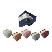 Pack 24 Cajas Para Joyas Joyería Regalo 5x5 Cm
