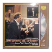 Laserdisc - Piano Concertos Nos. 3 & 5  Emperor - Karl Böhm