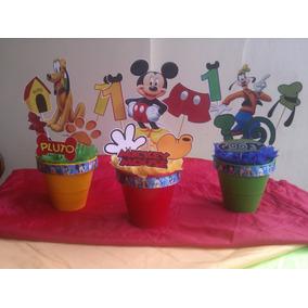 Centros De Mesas De Mickey Mouse, Pluto Y Goofy