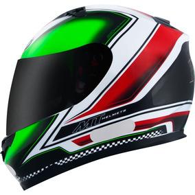 Capacete Moto Mt Blade Mugello Verde - Promoção